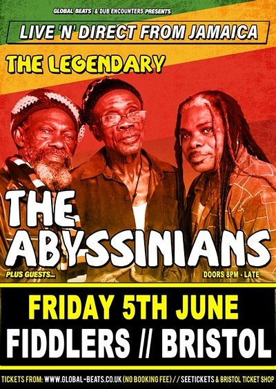 The Abyssinians at Fiddlers in Bristol