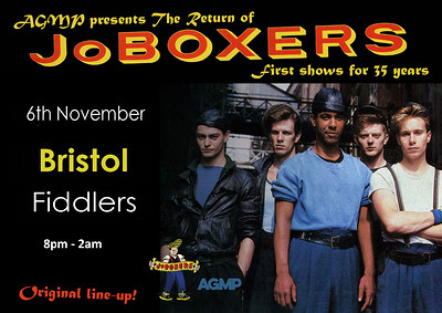 The Return of JoBoxers at Fiddlers in Bristol