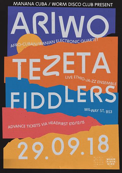 Worm Disco Club + Manana Cuba: Ariwo & Tezeta LIVE at Fiddlers in Bristol