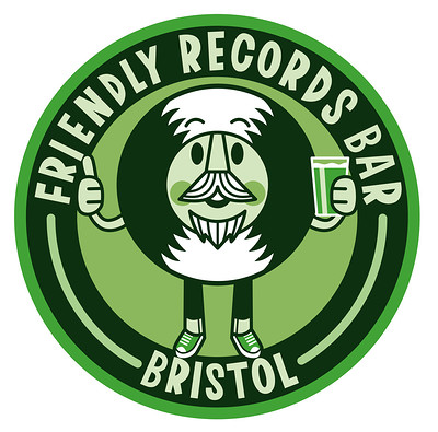 DJ Shaun & his mates at Friendly Records Bar in Bristol
