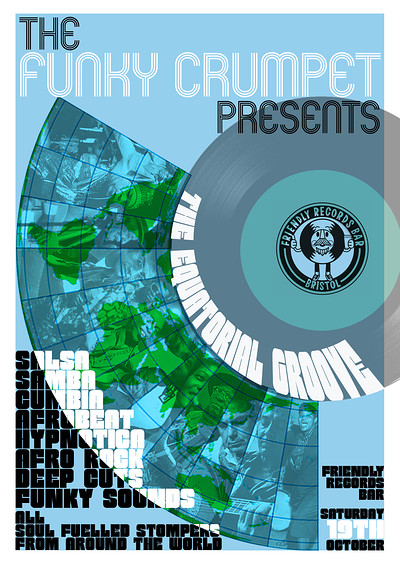 Funky Crumpet presents: The Equatorial Groove at Friendly Records Bar in Bristol