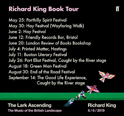 Richard King Book Tour: The Lark Ascending at Friendly Records Bar in Bristol