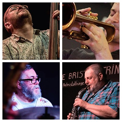 NICK MALCOLM & OLIE BRICE QUARTET at Fringe Jazz in Bristol