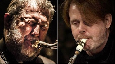 Paul Dunmall & John O'Gallagher Quartet at Fringe Jazz in Bristol