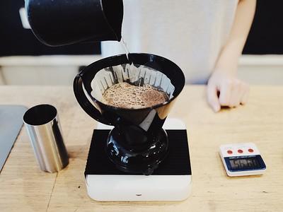 Home Coffee Brewing Talk at Full Court Press in Bristol