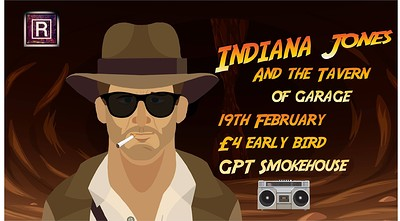 Indiana Jones and the Tavern of Garage  at GPT Smokehouse in Bristol