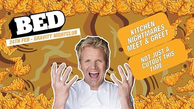 BED Mondays: Bed's Kitchen Nightmares at Gravity Bristol in Bristol