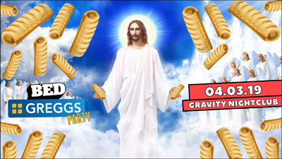 BED Bristol: Free Greggs Party! at Gravity Night Club in Bristol
