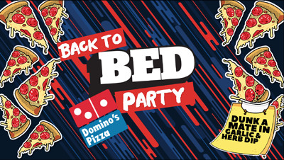 BED Bristol: Back to BED Dominos Pizza Party at Gravity Nightclub in Bristol