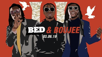 TONIGHT: BED Bristol: BED & Boujee [Trap Party] at Gravity Nightclubs in Bristol
