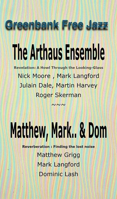 Arthaus Ensemble and Matthew Mark Dom at Greenbank Pub in Bristol