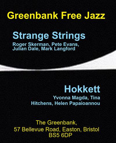Hokkett & Strange Strings at Greenbank in Bristol