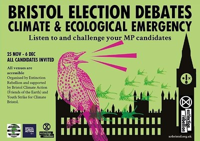 Bristol North-West Climate and Ecological Debate at Greenway Centre, Doncaster Rd BS10 5PY in Bristol