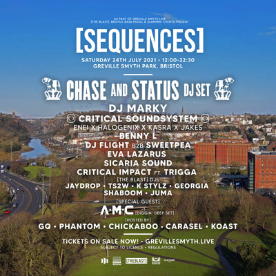 [SEQUENCES] 2021 // Chase & Status + more! at Greville Smyth Park in Bristol