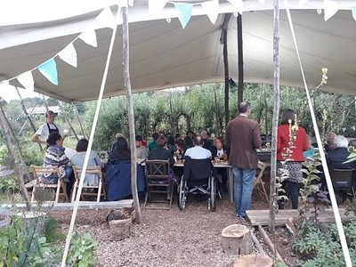 Summer Feast at Sims Hill at Grow Wilder in Bristol