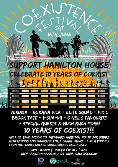 Coexistence Festival at Hamilton House in Bristol