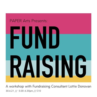 Funding workshop with PAPER Arts at Hamilton House in Bristol