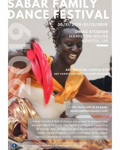 Sabar dance spectacular at Hamilton House in Bristol
