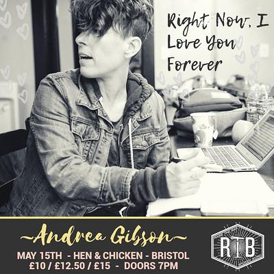 (POSTPONED)Raise the Bar | Andrea Gibson - Bristol at Hen and Chicken in Bristol