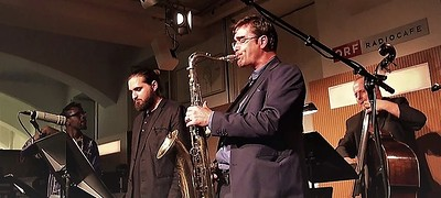 Martin Kern and Andy Hague Quintet at Hen & Chicken in Bristol