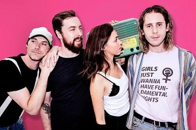 Beach Riot at Hy Brasil Music Club in Bristol