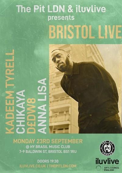 Bristol Live with Kadeem Tyrell at Hy-Brasil Music Club in Bristol