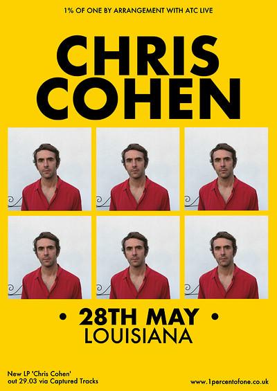 Chris Cohen at Hy Brasil Music Club in Bristol