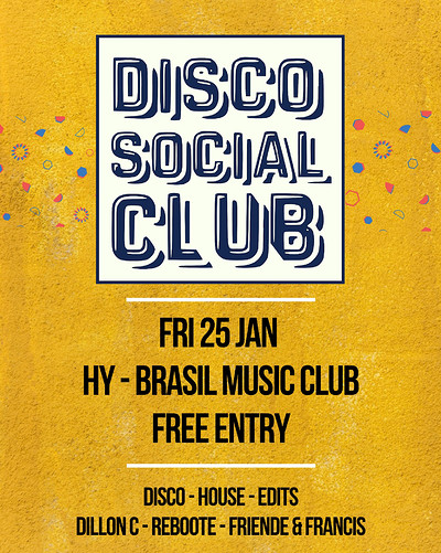 Disco Social Club - Part 2 at Hy-Brasil Music Club in Bristol