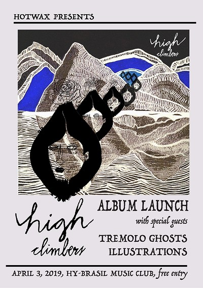 High Climbers 'Faire-Part' Album Launch at Hy-Brasil Music Club in Bristol