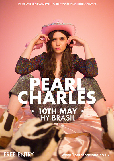 Pearl Charles at Hy Brasil Music Club in Bristol