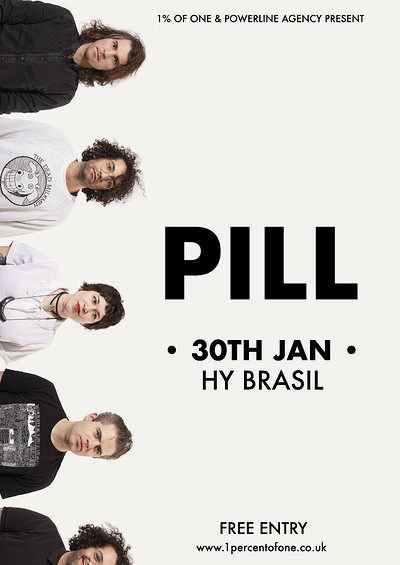 PILL + Neurotic Fiction at Hy Brasil Music Club in Bristol