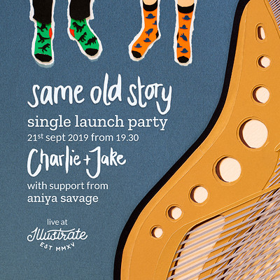 Charlie + Jake Same Old Story Single Release Party at Illustrate, Park Street in Bristol