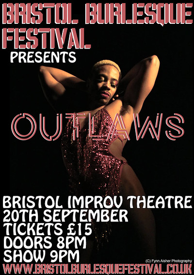 Bristol Burlesque Festival Presents: Outlaws at Improv Theatre in Bristol