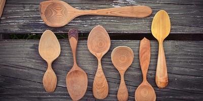 Carve a wooden spoon workshop at InBristol Studio in Bristol
