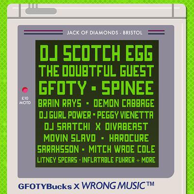 Wrong Music x GFOTYBucks at Jack Of Diamonds in Bristol