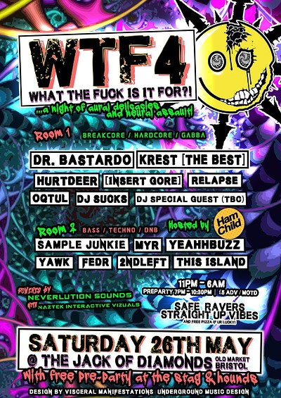 WTF4 feat. HamChild Takeover at Jack of Diamonds in Bristol