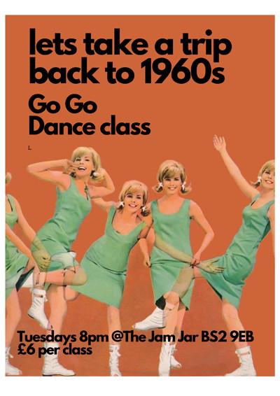 60s GO GO Dance  at Jam Jar in Bristol