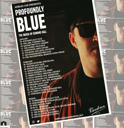 Adrian Cox presents: Profoundly Blue at Jam Jar in Bristol