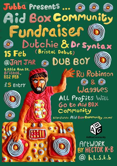 Aid Box Community Fundraiser at Jam Jar in Bristol