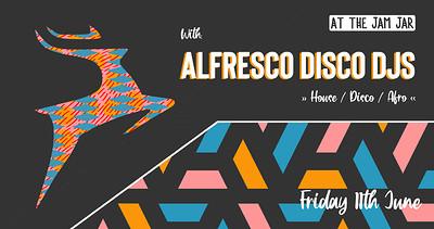 At The Jam Jar with Alfresco Disco DJs at Jam Jar in Bristol