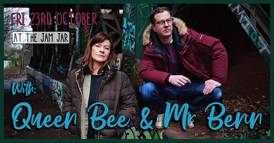 At The Jam Jar with Queen Bee & Mr. Benn at Jam Jar in Bristol