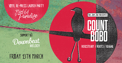 Count Bobo | Bird of Paradise vinyl re-press launc at Jam Jar in Bristol