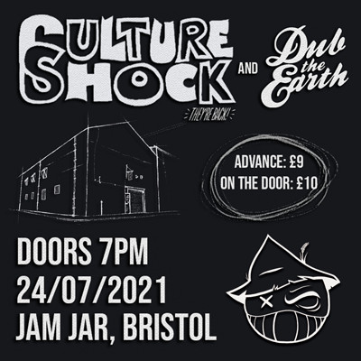 Culture Shock + Dub The Earth - Scruffy at Jam Jar in Bristol