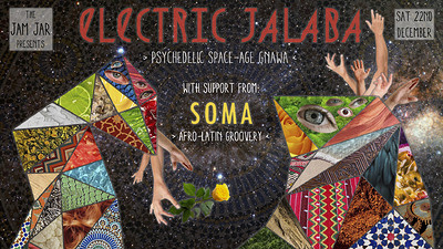 Electric Jalaba - Soma - Worm Disco Dj's at Jam Jar in Bristol