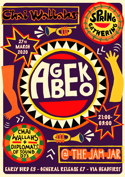 POSTPONED! Chai Wallahs Spring Gathering: Agbeko at Jam Jar in Bristol