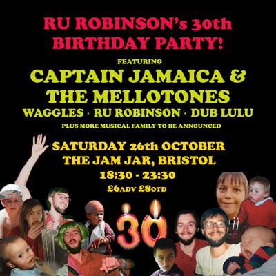 Ru Robinson's 30th Birthday at The Jam Jar at Jam Jar in Bristol