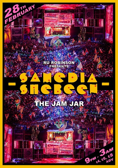 Samedia Shebeen at Jam Jar in Bristol