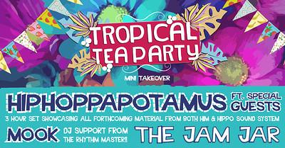 Tropical Tea Party at Jam Jar in Bristol