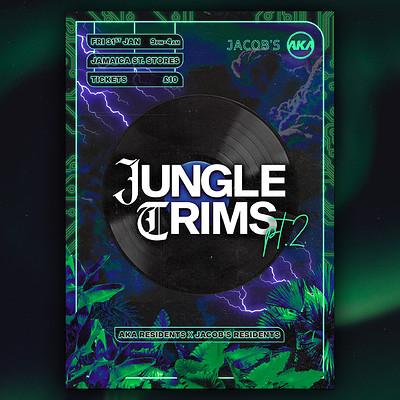 AKA x Jacob's present. 'Jungle Trims pt.2' at Jamaica Street Stores in Bristol