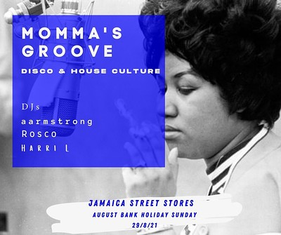Momma's Groove at Jamaica Street Stores in Bristol